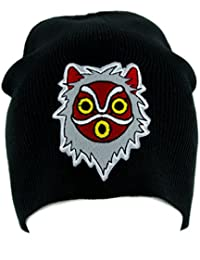 Princess Mononoke San Wolf Mask Beanie Knit Cap Alternative Clothing Anime