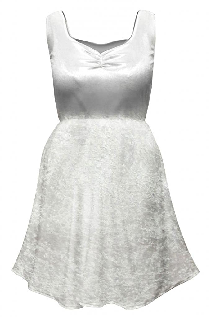 1296123bec0 Amazon.com  Womens Sexy White Fairy Angel Plus Size Supersize Halloween  Costume Dress  Clothing