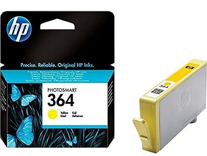 HP 364 Yellow Ink Cartridge cartucho de tinta Original ...