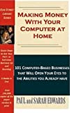 Making Money with Your Computer at Home provides the information you need to select and get underway in a full-time, part-time, or add-on business that's right for you. Part I profiles 101 computer-based businesses that will open your eyes to opportu...