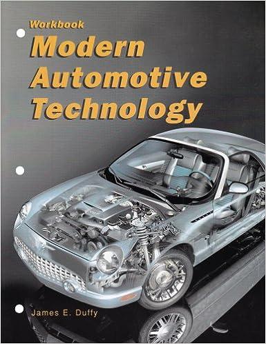 Image for Modern Automotive Technology (Workbook)