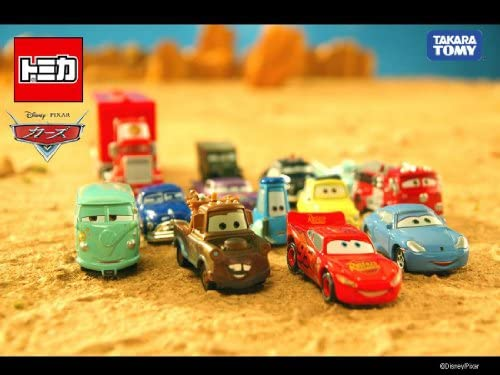 Tomica Disney Pixar Cars Red Fire Engine C-07