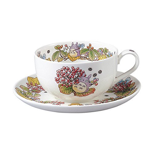 Herb Cup Saucer (Noritake Studio Ghibli My Neighbor Totoro Special Collection Milk tea Cup & Saucer set Bone China 4660-5)