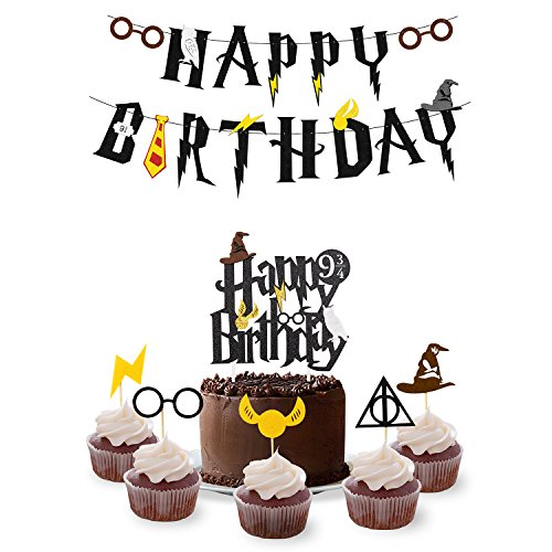 Wizard Birthday Party Supplies Set - Happy Birthday for sale  Delivered anywhere in USA