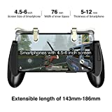 GameSir F2 Mobile Game Controller Sensitive Shoot and Aim Fire Buttons L1R1 Trigger, Mobile Grip Joystick Set for Fortnite/PUBG/Knives Out/Rules of Survival
