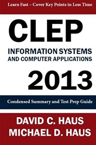 amazon com clep information systems and computer applications rh amazon com Biology CLEP Study Guide Biology CLEP Study Guide