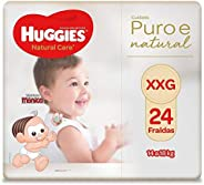 Fralda Huggies Natural Care Xxg, 24 Fraldas, Huggies