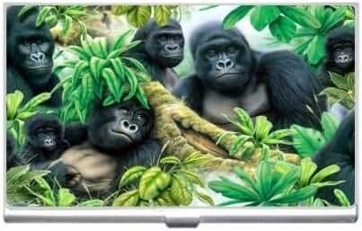 New Gorillas Business Credit Card Holder Case