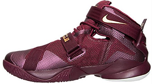 de Sport Soldier Chaussures IX Grenat Dor Nike Basketball Intense Lebron Homme HwpqgnI