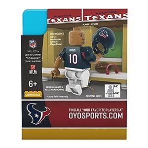 NFL Houston Texans Gen4 Limited Edition Deandre Hopkins Mini Figure, Small, White