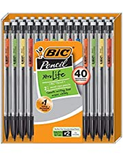 BIC Xtra-Life Mechanical Pencil, Medium Point (0.7 mm), 40-Count