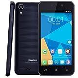 DOOGEE Valencia DG800 Smart Phone 4.5 inch 3G Android 4.4.2 Smart Phone, MTK6582 1.3GHz Quad Core, RAM: 1GB ROM: 8GB, Support OTA, Dual SIM, WCDMA & GSM Dark Blue
