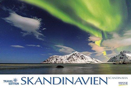 Skandinavien 2018: Großer Wandkalender. Natur und Landschaften. Travel Edition mit Jahres-Wandplaner. PhotoArt Panorama Querformat: 58x39 cm.