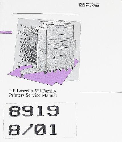 - HP LaserJet 5Si Family Printers Service Manual