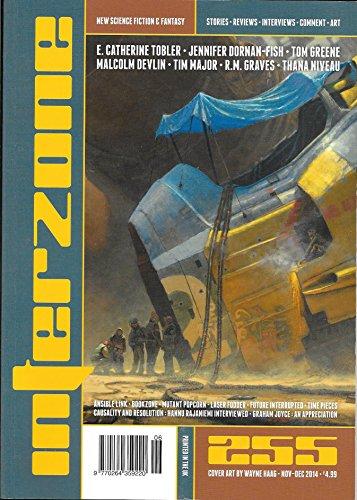 Interzone Science Fiction Magazine No. 255, November-December 2014