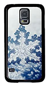 Winter Snow Black Hard Case Cover Skin For Samsung Galaxy S5 I9600