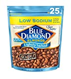 Blue Diamond Almonds, Low Sodium Lightly Salted, 25 Ounce