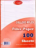 Filler Paper - 100 sheets - College Ruled Paper 60 pcs sku# 1858972MA