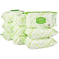Amazon Elements Baby Wipes, Fresh Scent, 720 Count Flip-Top Packs