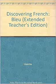 discovering french bleu textbook pdf