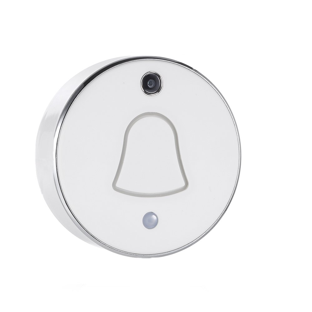 Festnight Wireless WiFi Mini Smart Doorbell Photos Automatically Cloud and Local Storage For Home Security