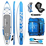 Bluefin SUP Stand Up Inflatable Paddle Board with Kayak Conversion Kit | Ultimate