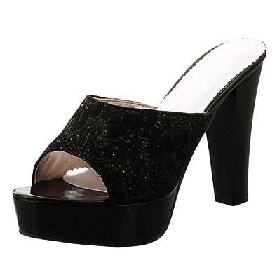 JOJONUNU Women Open Toe Sandals