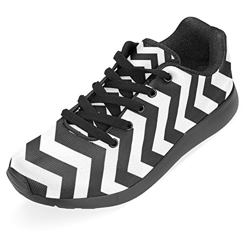 InterestPrint Damen Jogging Running Sneaker Leichtes Leicht Gehendes Leichtes Komfort Sport Laufschuhe Chevron