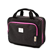 Large Hanging Travel Cosmetic Bag For Women – Travel Toiletry And Cosmetic Makeup Bag With Many Pockets
