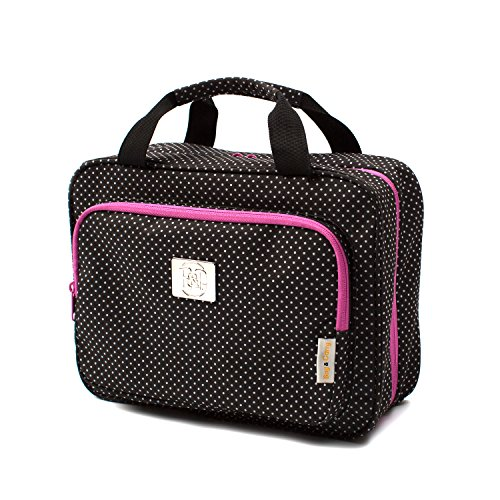 Large Versatile Travel Cosmetic Bag - Perfect Hanging Travel Toiletry ()