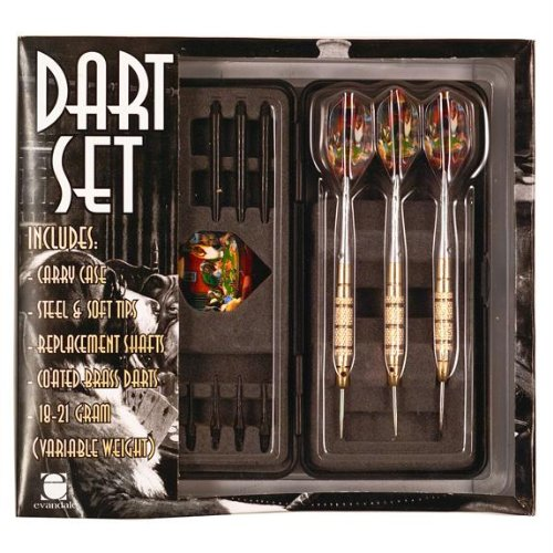 Dogs Playing Poker - 3-Pack Dart Set by Old Glory