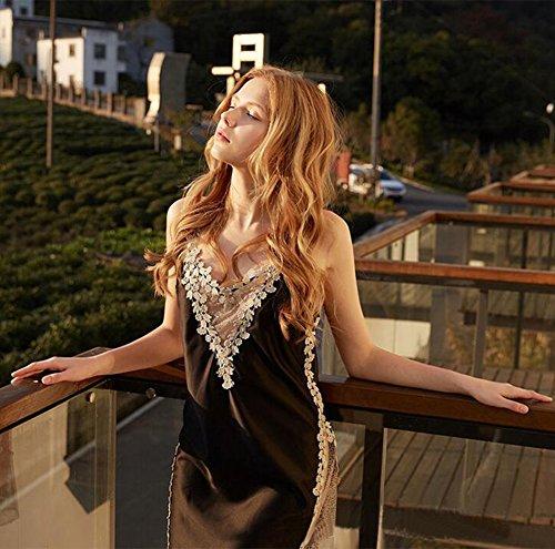 Donna TTDW da notte Nero Camicia Bxwx7