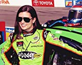AUTOGRAPHED 2013 Danica Patrick #10 GoDaddy Racing (Stewart-Haas Team) Pre-Race Pit Road 8X10 Inch Signed Picture NASCAR Glossy Photo with COA