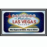 Las Vegas Framed Logo Mirror