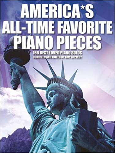 Book America's All-Time Favorite Piano Pieces by Amy Appleby (2008-05-01)