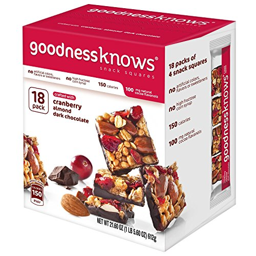 goodnessknows Cranberry Almond Chocolate 18 Count product image