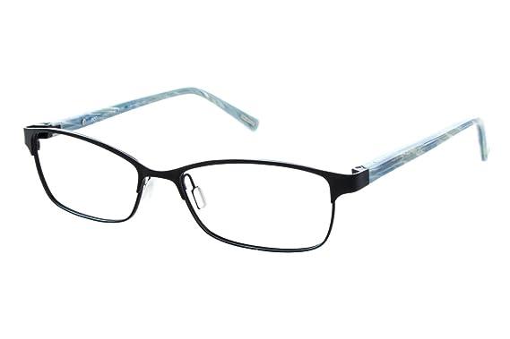 e71e33bb5b08 Eco Cape Town Women s Eyeglass Frames - Matte Black at Amazon ...