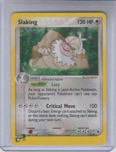 2003 EX Ruby and Sapphire Slaking Holo Rare Pokemon #12