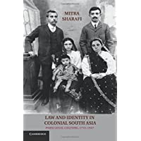 Law and Identity in Colonial South Asia