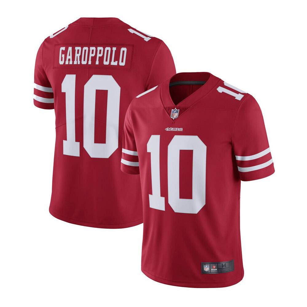 TSA San Francisco 49ers Red Jimmy Garoppolo #10 Vapor Limited Jersey by Team Sports America