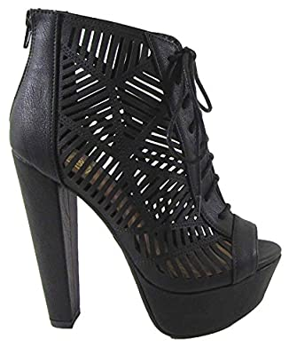 Delicious women's Dress Sandal Zamora, MVE Shoes Wrapped Thick heel,