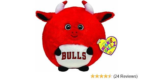 Amazon.com  TY Beanie Ballz Chicago Bulls - NBA Ballz  Toys   Games ffebc56f903
