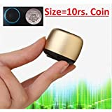 Rewy World's Smallest Bluetooth Speaker with Mic, Hands-free voice calling & Selfie Remote Shutter Feature For All Android & Iphone Smartphones (Assorted Colour)