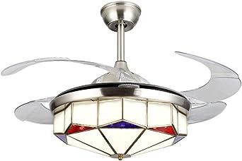 Luces de ventilador de techo de sigilo simple moderno moda ...