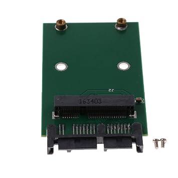 perfk Mini PCI-E mSATA SSD a 1.8 pulgadas Adaptador de ...