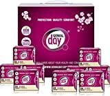 Genial Day Organic Cotton Unscented Eco Certified Light Absorbency Liner Featuring Odor Control Anion Strip - 9 Packs of 24