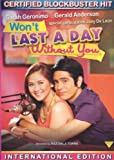 I Won't Last A Day Without You - Filipino DVD Sarah Geronimo