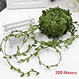 Home Decor,Home Decorations for Living Room 200 Meters Artificial Vines Hanging Plants Wreath Accessory Wedding Wall Crafts
