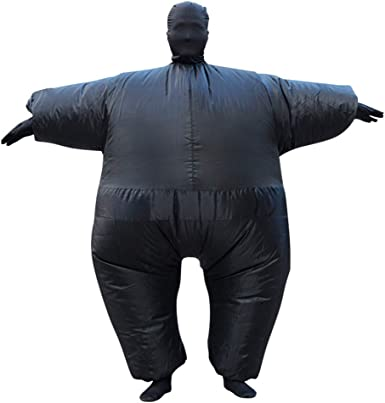 Poptrend Inflatable Costumes Halloween Costume Blow Up Costume for Adult for Halloween Birthday Gift Cos Play Party