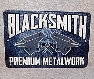 Señal de Metal Unkown Blacksmith de Hierro Forjado de Acero forja ...